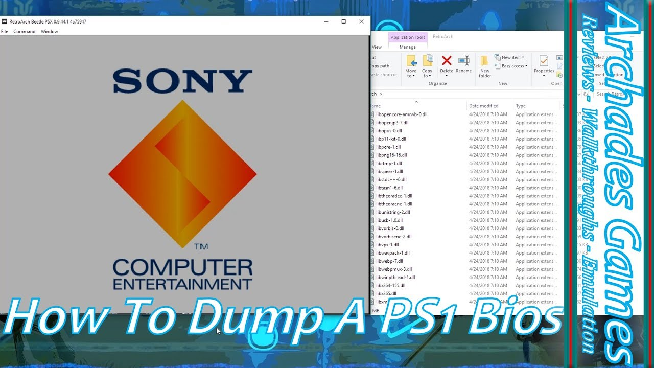 sony playstation bios package