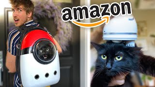 Testing the Weirdest Amazon Cat Products