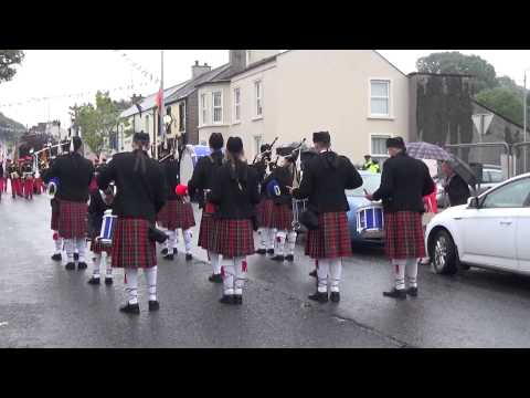 Cooneen Pipe Band @ Brookeborough District Parade 2015