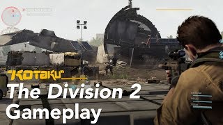 The Division 2 Gameplay, E3 2018