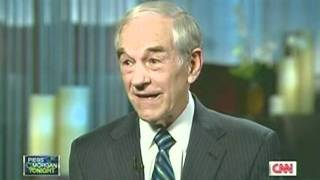 Ron Paul Interview On Piers Morgan Part Three 02/03/12