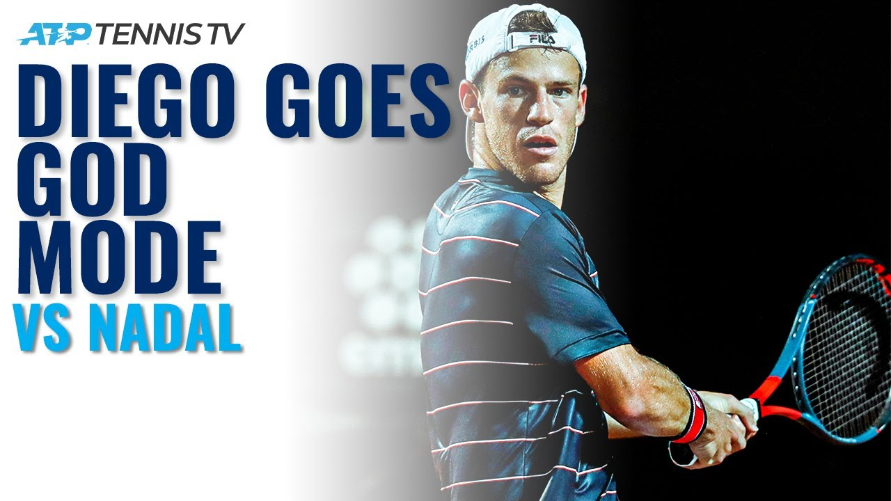 Diego Schwartzman God Mode Vs Rafa Nadal Rome 2020 Quarter Finals Youtube