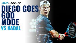 Diego Schwartzman GOD MODE vs Rafa Nadal | Rome 2020 Quarter-Finals