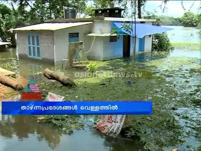 Continous rain trigger floods in  Pandalam Panchayath: Chuttuvattom News