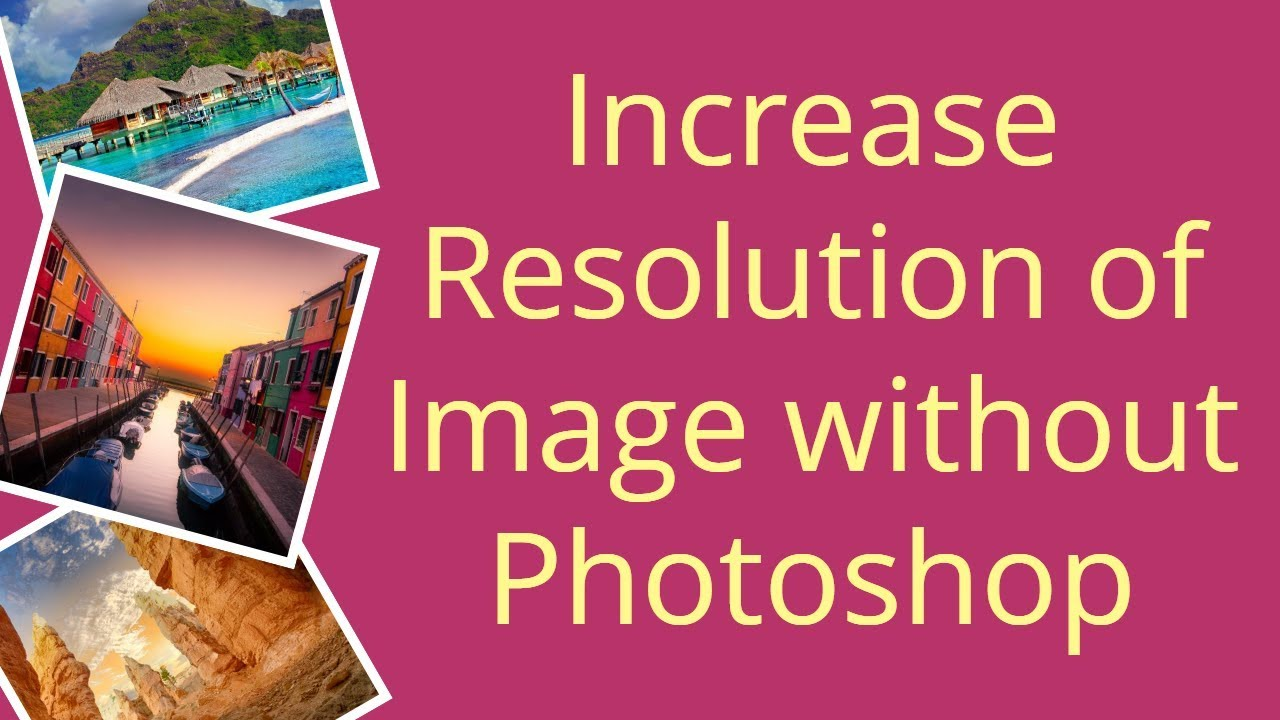 How To Change Image Resolution In Adobe Photoshop Elements