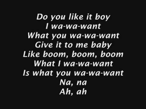 Rihanna - Rude Boy [Lyrics on screen]