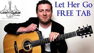 Let Her Go - Easy Beginner Guitar Tutorial - Passenger