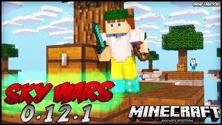 Minecraft PE 0.12.1 - NOVO SERVIDOR DE SKYWARS