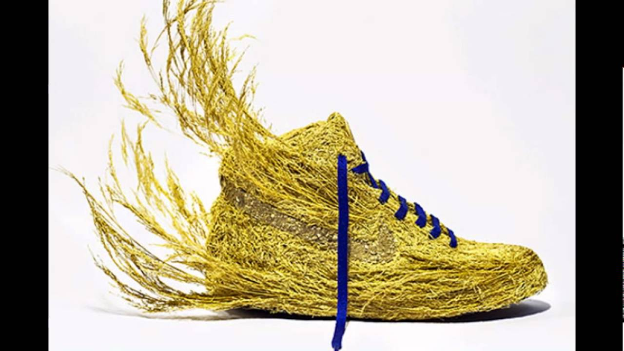 Just Grow It - Nature transformed in Nike shoes by Mr. Plant