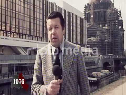 Palace of the Republic opens in East Berlin, April 23, 1976
