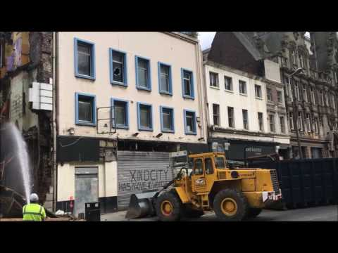 Demolition Of Lime Street Week 2 Day 1