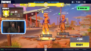 Double the meat, Double the Buns - Fortnite with Inulater - 200 Sub Giveaway