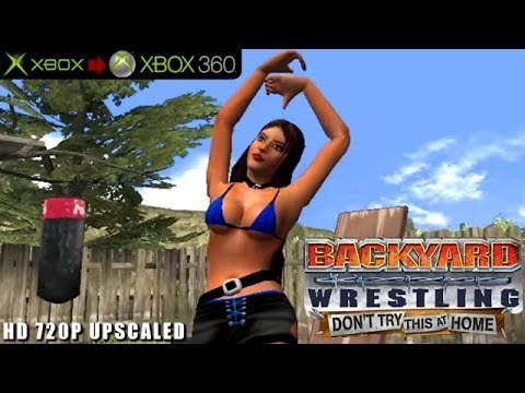 Backyard Wrestling: Don't Try This at Home - Gameplay Xbox HD 720P (Xbox to  Xbox 360) - Backyard Wrestling: Don't Try This At Home - Gameplay Xbox HD 720P