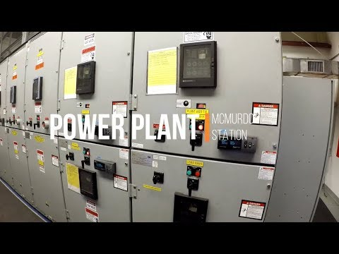 Antarctica Jobs - Power Plant