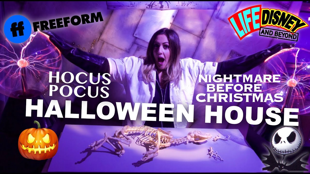 Freeform Halloween 2020 25th Anniversary Freeform Halloween House! 25th Anniversary of Hocus Pocus and The