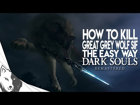 How To Kill Sif The Easy Way | Dark Souls Remastered Boss Guide