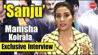 """Manisha Koirala"" Exclusive Interview For ""Sanju"" 