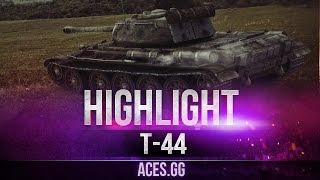 Т-44 в World of Tanks, 5 лет в строю!