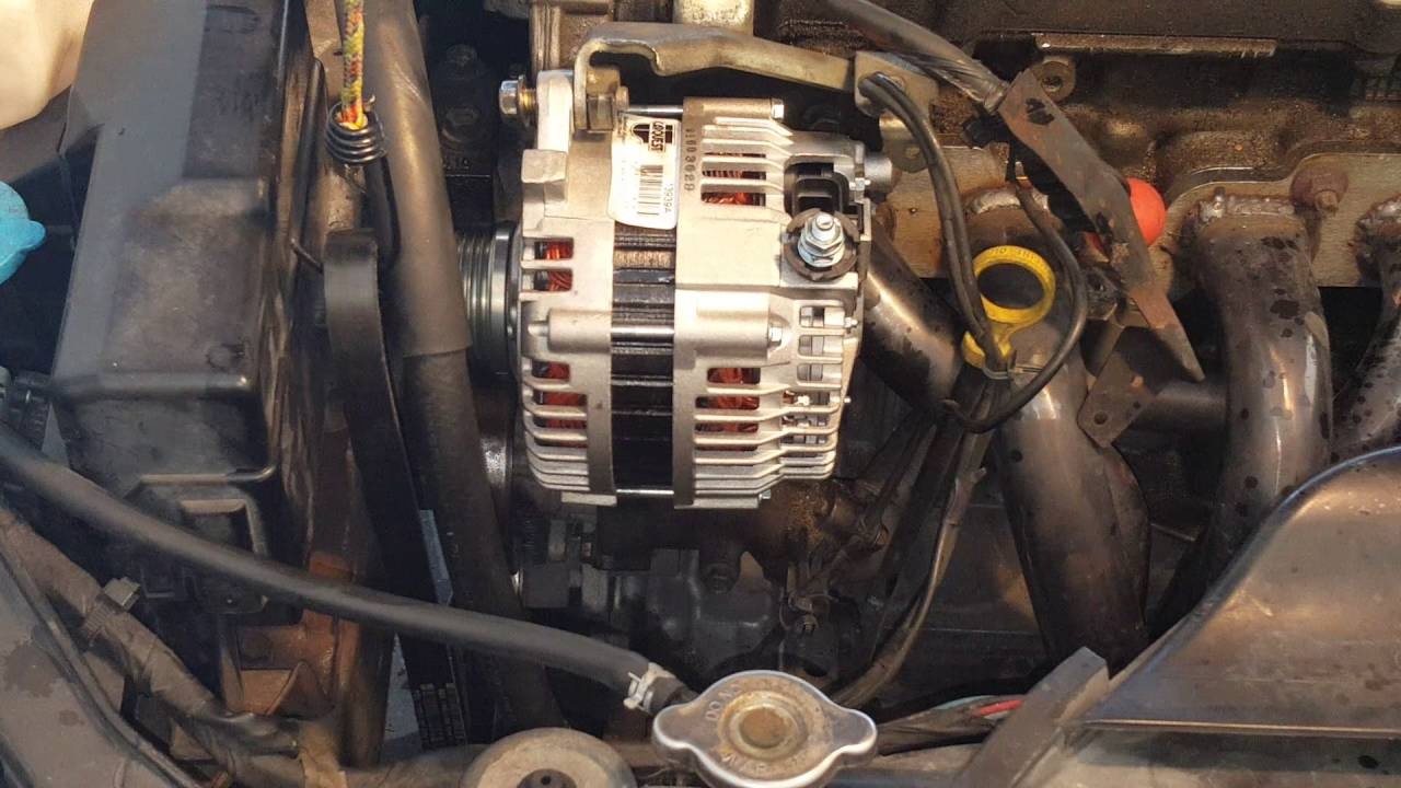 Nissan       Altima    20032010 Alternator replacement  2  YouTube