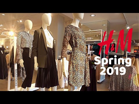 H&M Women's Wear SPRING Collection March 2019