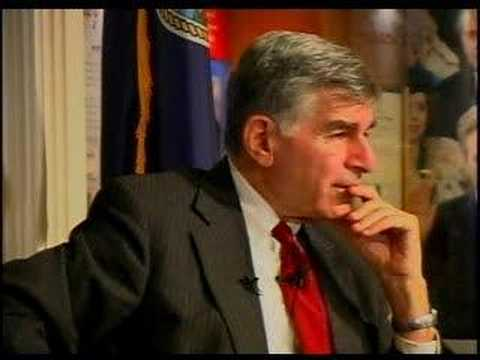 Michael Dukakis - On illegal immigration and Mitt Romney