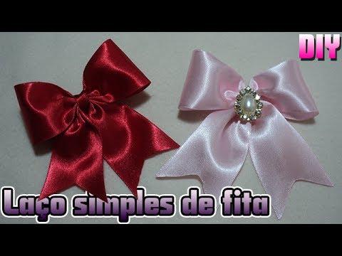 a01ec9124 LAÇO SIMPLES DE FITA