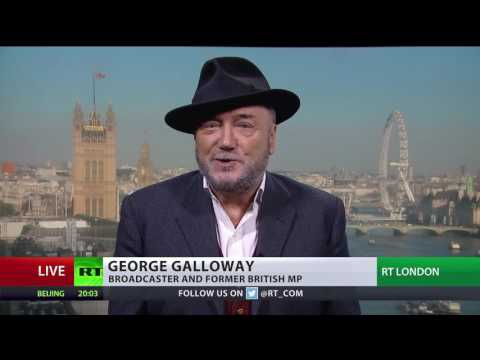 'What's next, Mr. Putin? Invade the Disney channel?' - Galloway on RT C-SPAN interruption