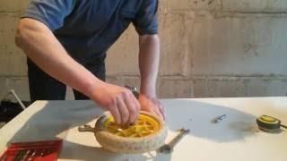 Изготовление транцевых колёс из трубы ПП