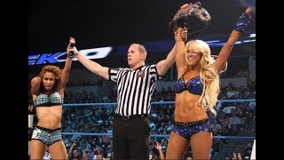 Kelly Kelly & AJ Lee vs Alicia Fox & Natalya (WWE SD! August 19, 2011)