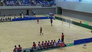 2018年第47回全国中学校ハンドボール大会 男子決勝 神森vs大体大浪商