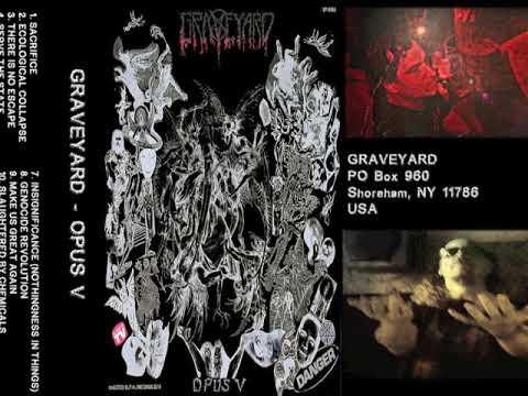 graveyard opus v : full lenght version cassette release 2018