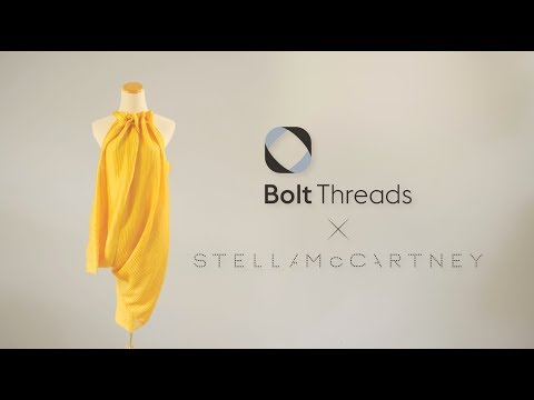 Bringing fashion into the future: Microsilk™ dress by Bolt Threads and Stella McCartney