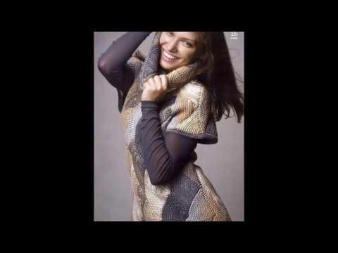 Вязаные женские жилеты и безрукавки - 2017 / Knitted womens jackets and vests