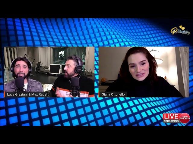 11.01.2021 Giulia Ottonello in diretta su Radio Stonata