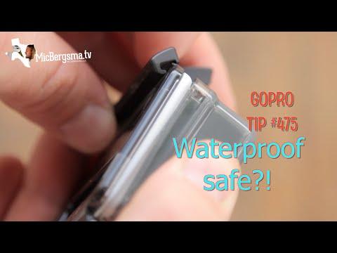 Waterproof? Backdoor is not fully closed!?! GoPro Tip #475