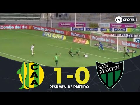 Resumen de Aldosivi vs San Martín SJ (1-0)   Fecha 18 - Superliga Argentina 2018/2019