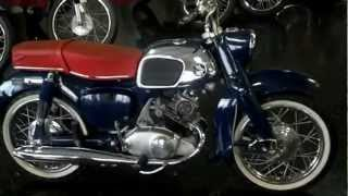 1964 CA95 Benly Touring 150 For Sale / Walk Around - Honda of Chattanooga Vintage Honda Motorcycles