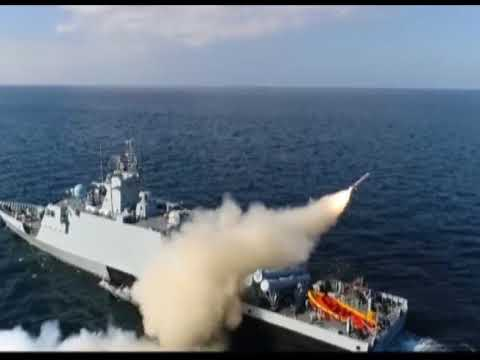 Pakistan Navy successfully test fires naval cruise missile