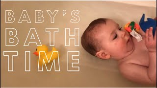 HOW WE DO BATH TIME FOR BABIES