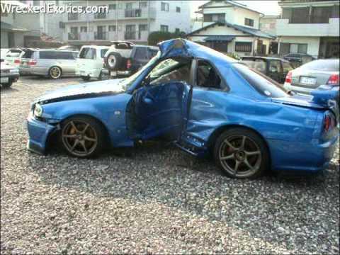 SKYLINE, SUPRA AND 3000GT CRASHES - photos - YouTube