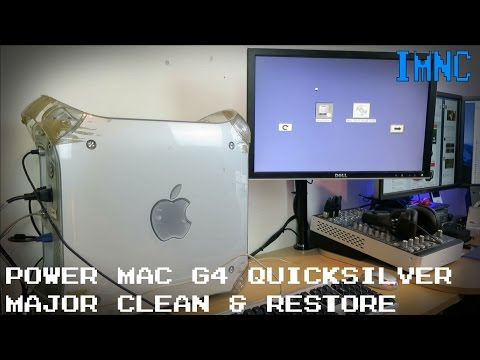 Power Mac G4 Quicksilver Restore & 'Clean' | IMNC