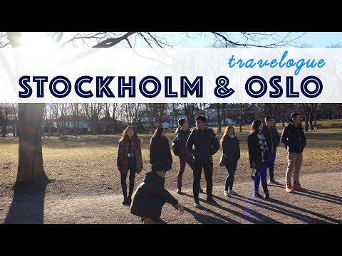 Travelogue | Stockholm & Oslo