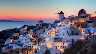مدينة سانتوريني الرائعة في اليونان !