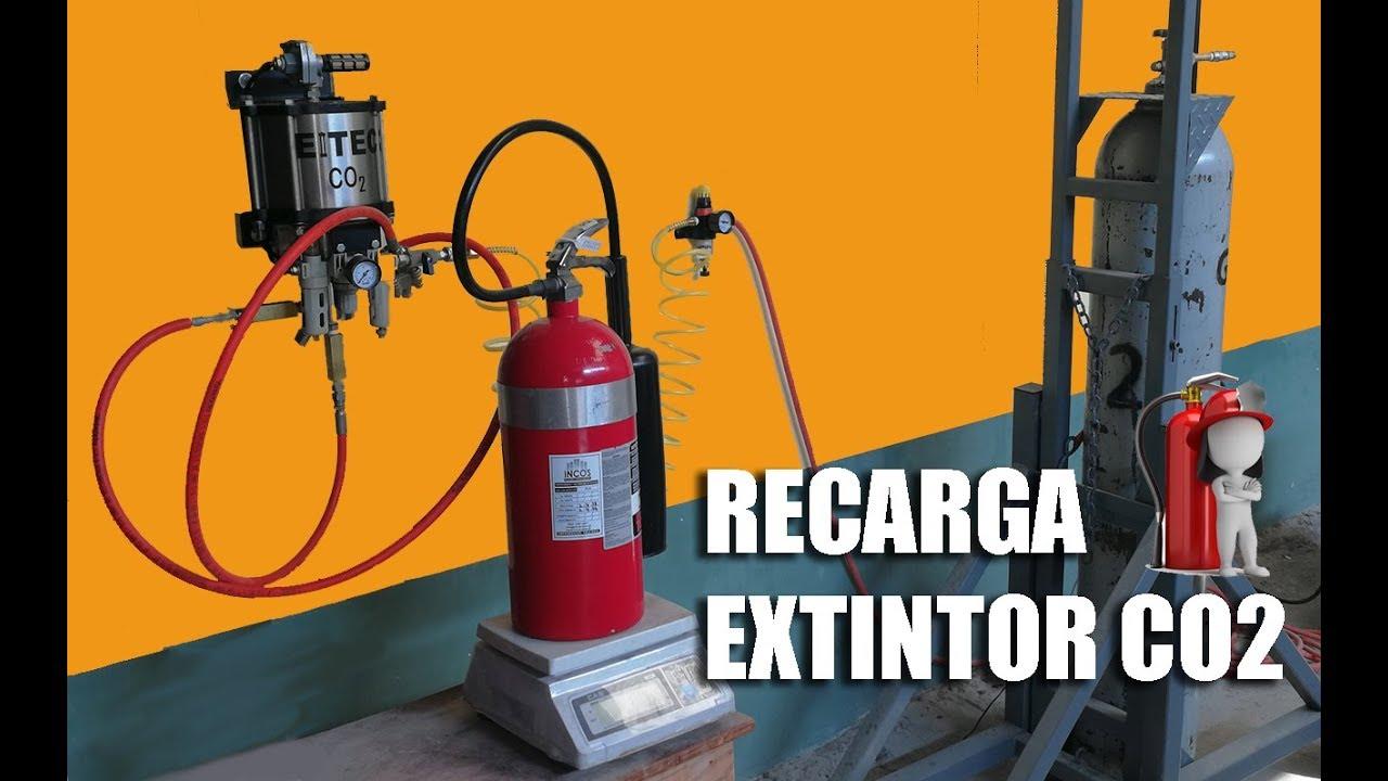 Resultado de imagen de taller recarga extintores