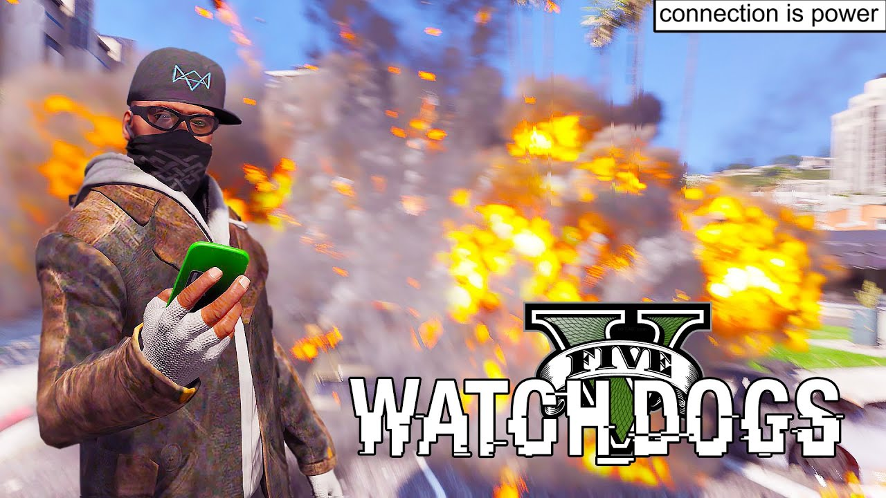 How To Install Watch Dogs Hack Mod In GTA5  Mod Installation