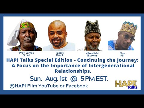 HAPI Talks Special Edition: Focus on the Importance of Intergenerational Relationships.