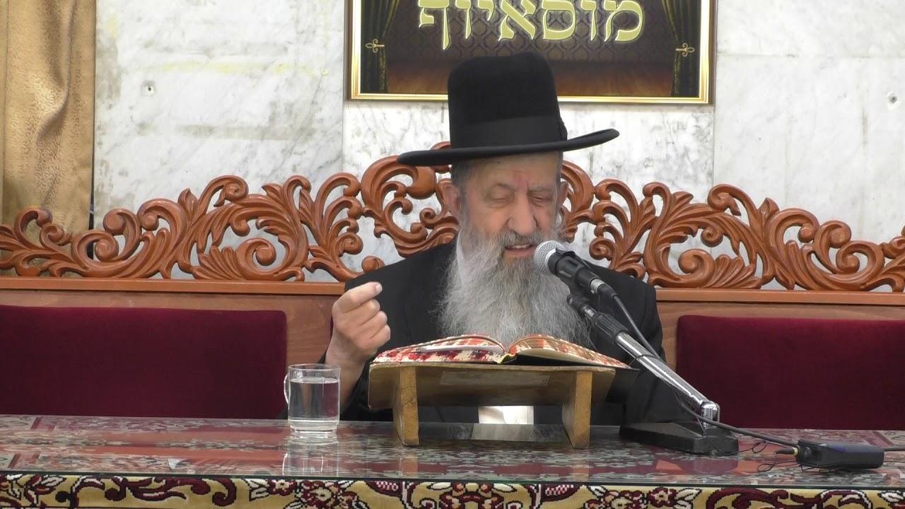 הרב בן ציון מוצפי דיני ויעבור בתפילה