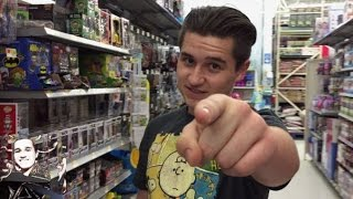 WHAT'S NEW ON THE WWE AISLE at WALMART VLOG!