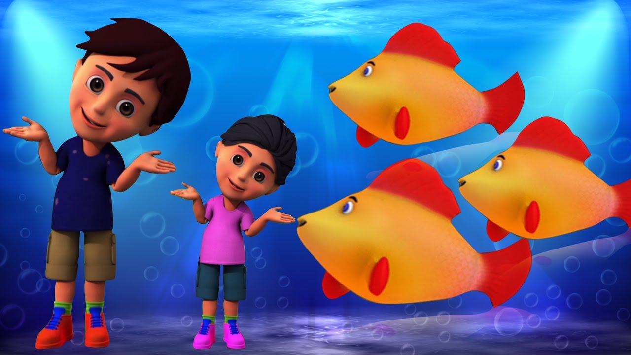 Machli Jal Ki Rani Hai | Hindi Rhymes | मछली जल की रानी है