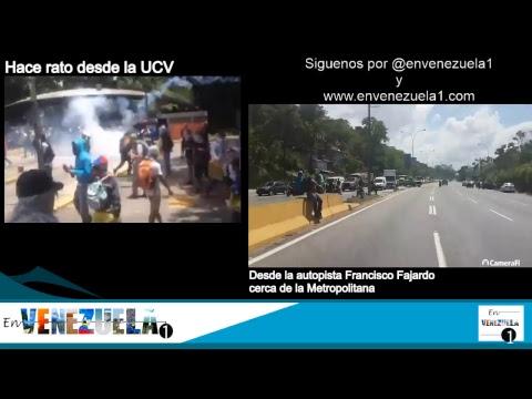 #ReporteDeGuerra Fuerte represión de la #MaldiciónChavista en Venezuela del #4Mayo2017